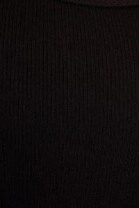 Black Rib Vest Top