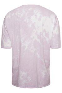 Lilac Tie Dye Oversized tshirt