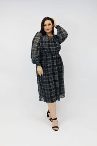 CHECKED_ELASTICATED_WAIST_CURVE_STYLE