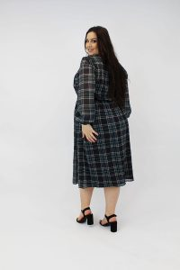 CHECKED_ELASTICATED_WAIST_CURVE_STYLE_BACK